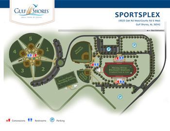 Gulf Shores Sportsplex | Gulf Shores Vacation Rentals