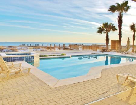 The Pool at Gulf Shores Vacation Rentals' Kiva property