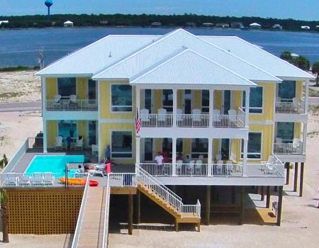 Large home Gulf Shores