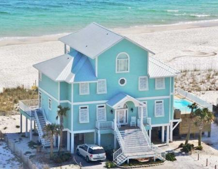 Ocean front vacation rental in Gulf Shores
