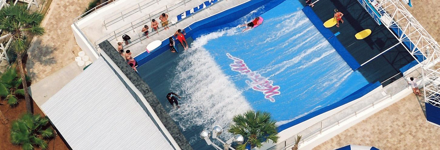 Water ride at Waterville USA