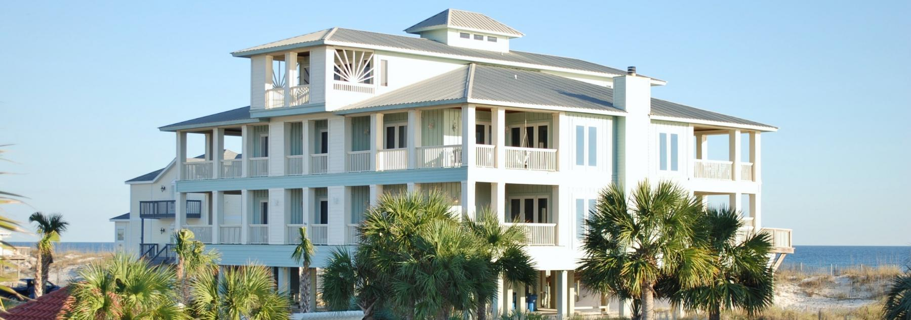 Halekai III luxury beach house in Gulf Shores