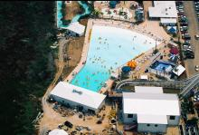 Ariel view of Waterville USA