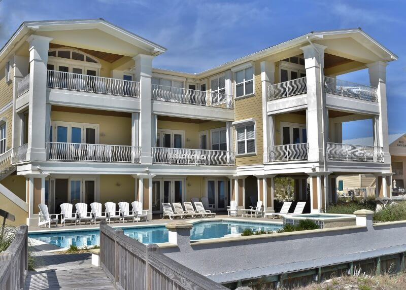 Gulf Shores Gulf Front Home with Private Pool