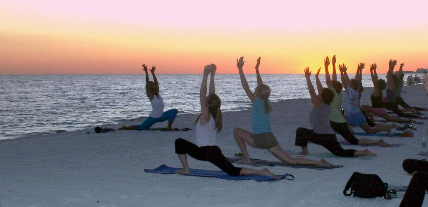 Yoga on the Beach | Gulf Shores Vacation Rentals