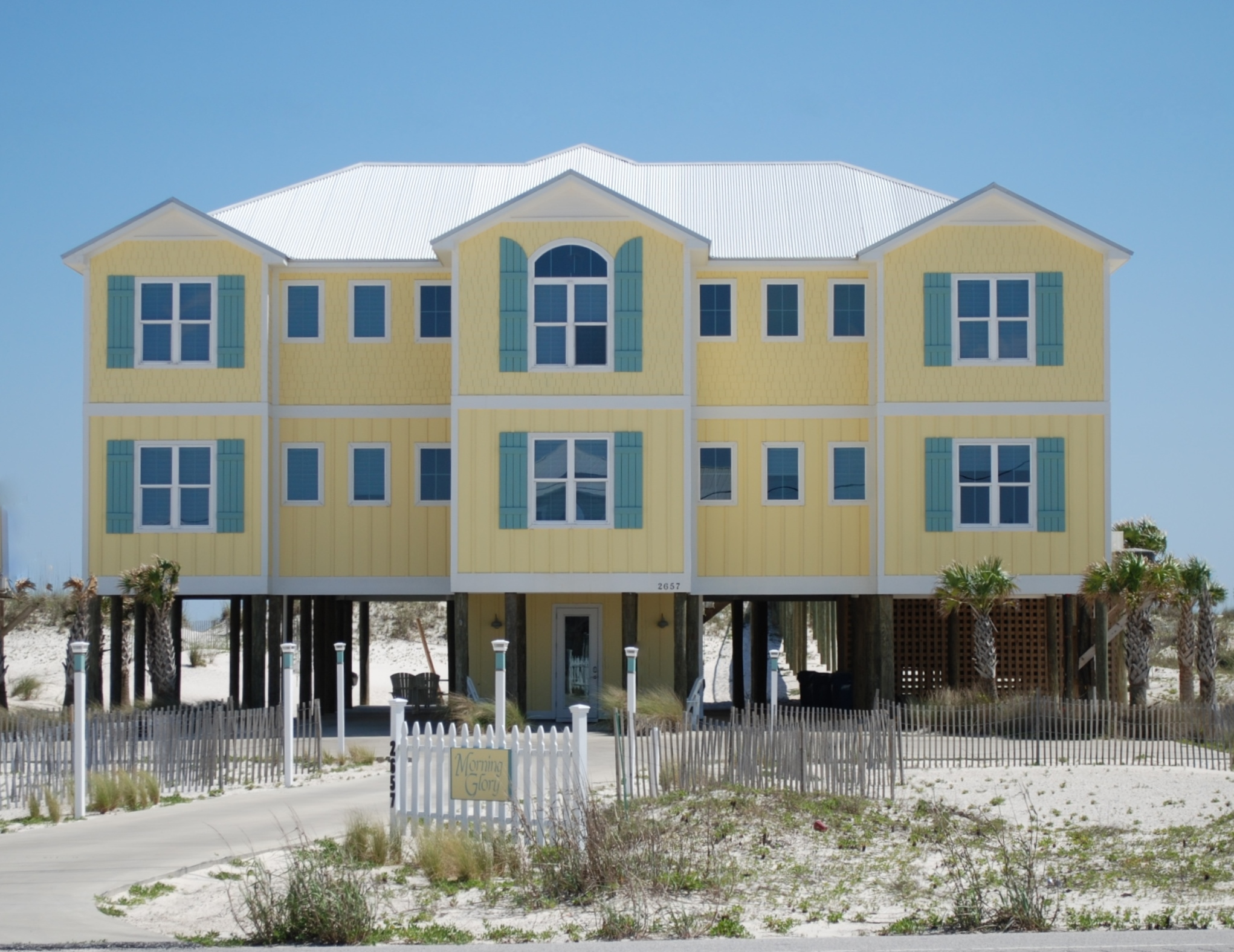Morning Glory Beach House Gulf Shores Alabama Design/Build Project