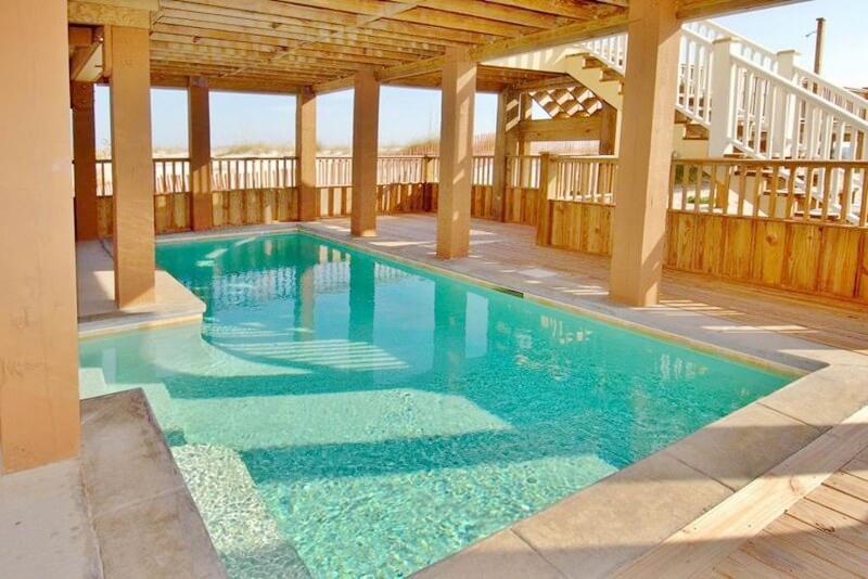Pool at Endless Summer Gulf Shores beach house