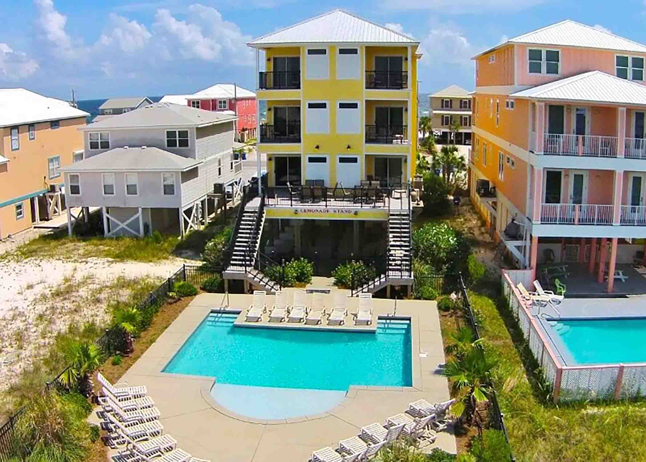 Gulf Shores vacation rental for large groups with a pool