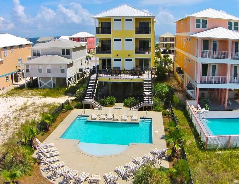 Lemonade Stand Gulf Shores Beach House Rental
